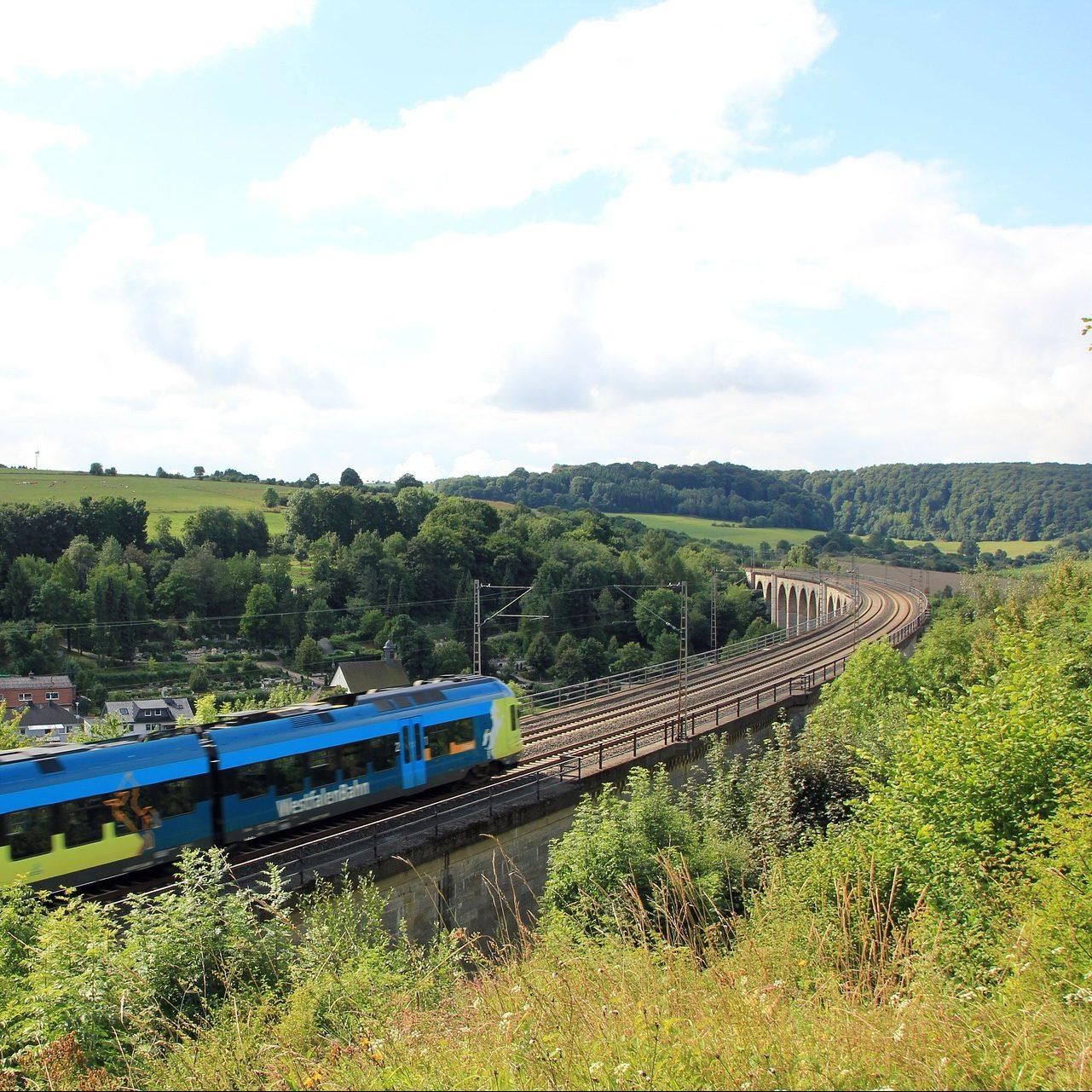 Viadukt bei Altenbeken. Es gibt viel zu entdecken