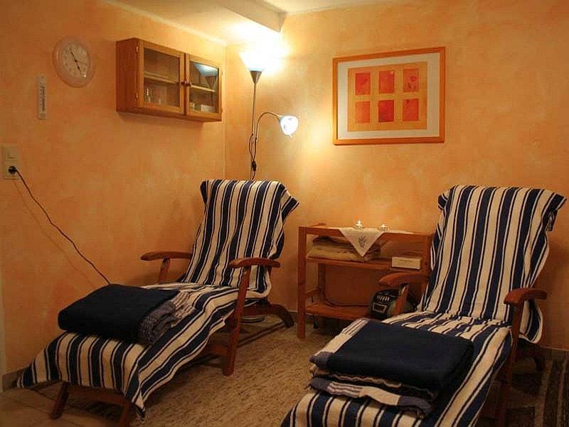 Der Wellnessbereich der Ferienwohnung Tintelott in Bad Lippspringe