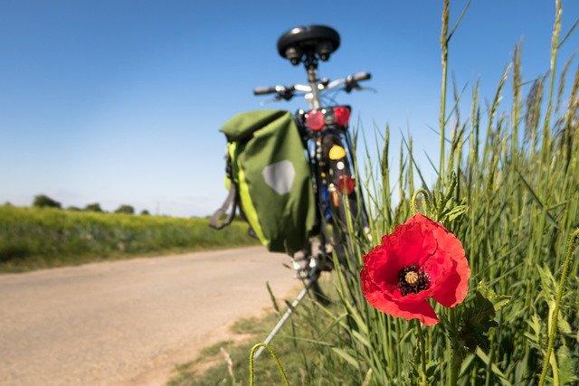 Feierabendradtouren - Fahrrad am Wegesrand