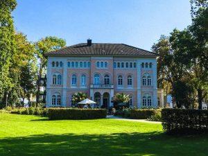 Das Prinzenpalais im Arminiuspark in Bad Lippspringe